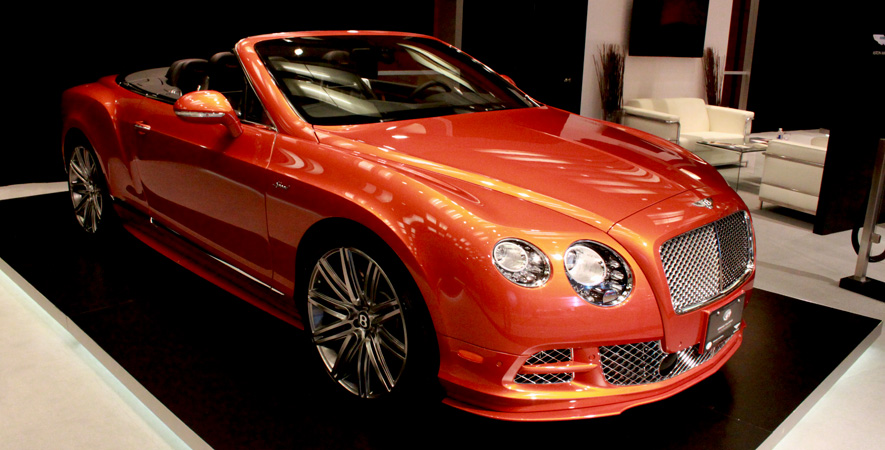 Bentley Continental at the Canadian International Auto Show