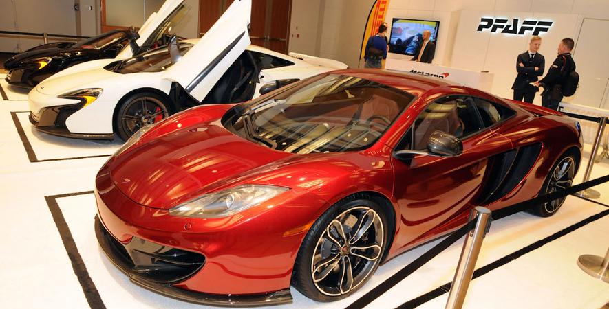 2015 Canadian International Auto Show: Auto Exotica McLaren
