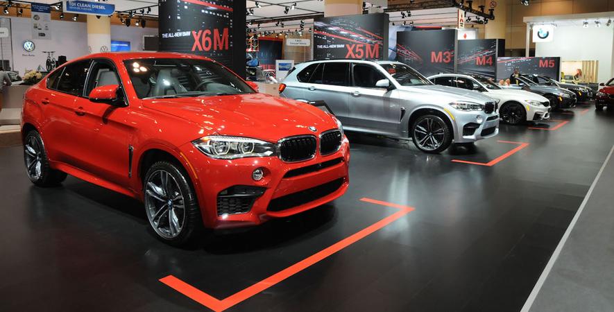 2015 Canadian International Auto Show: BMW M display