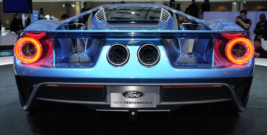 Canadian International Auto Show Ford Gt