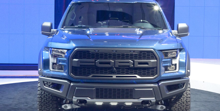 Ford Raptor at the Canadian International Auto Show