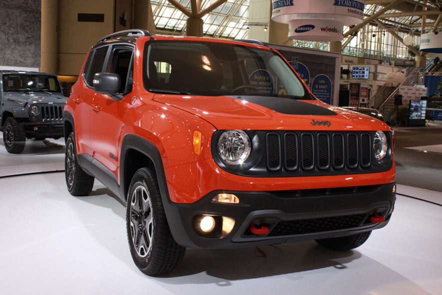Jeep Renegade at the Canadian International Auto Show