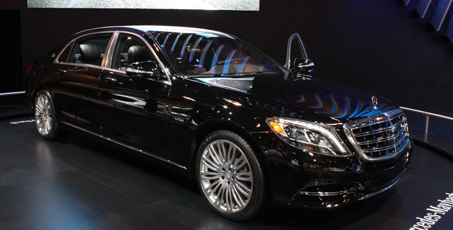 Mercedes Maybach at the Canadian International Auto Show