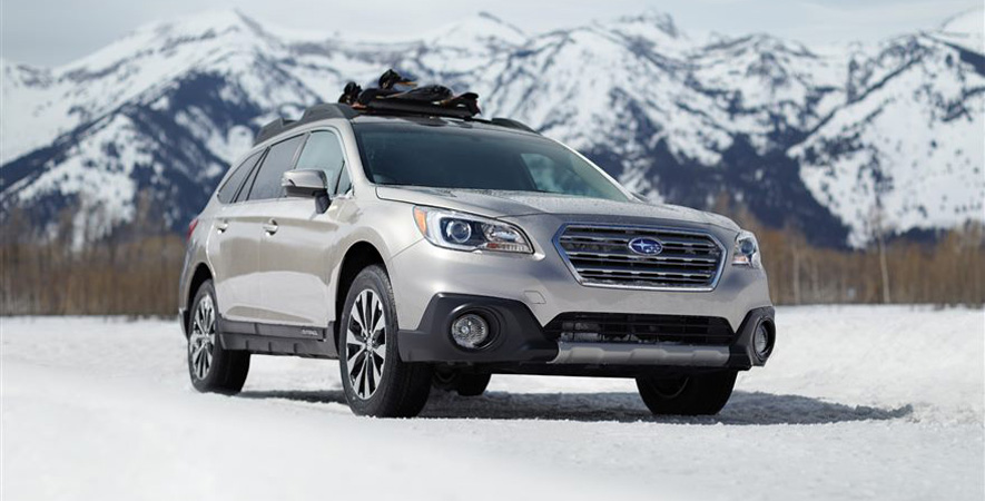 Subaru Outback at the Canadian International Auto Show