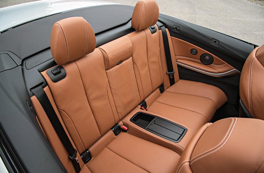 2015 BMW M4 Cabriolet Back Seats