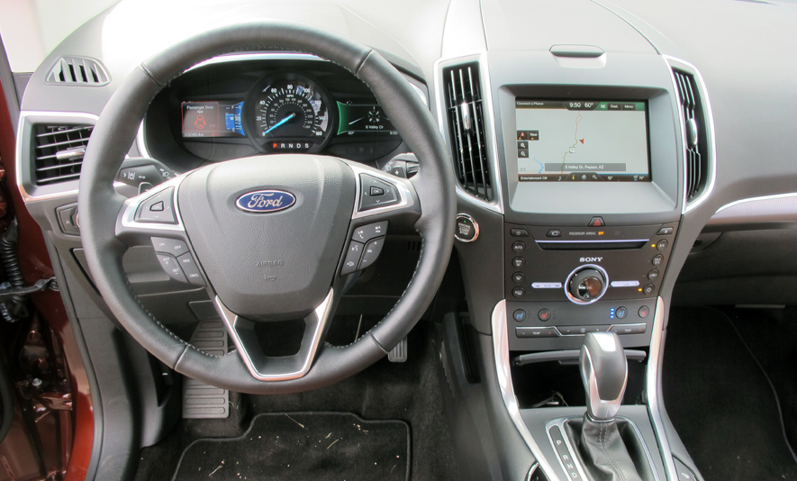 first edge car review ford original drive reviews photo driver s and