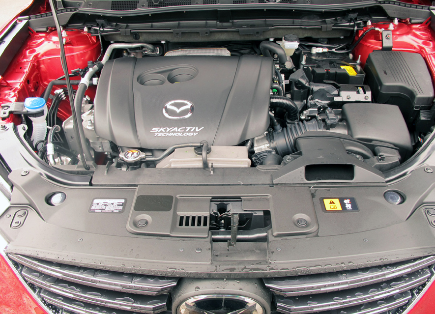 2016 Mazda CX-5 GT Engine