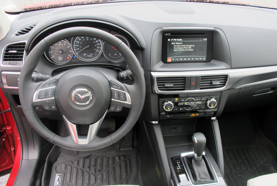 Beautiful 2016 Mazda CX 5 GT Interior
