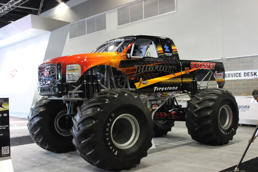 Electric Monster Truck