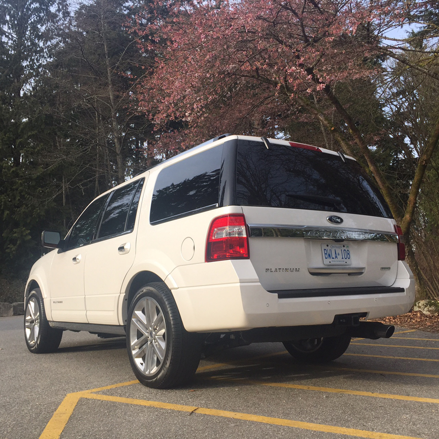 2015 Ford Expedition Rear
