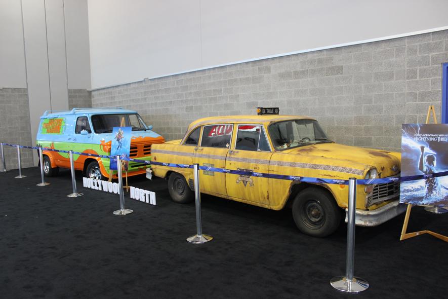 Hollywood North Vehicles