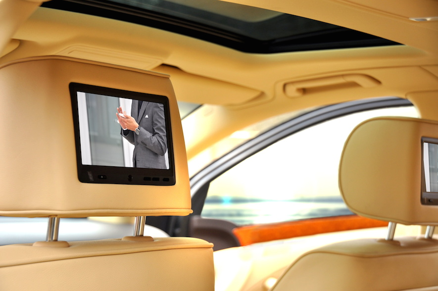 dvd in headrest