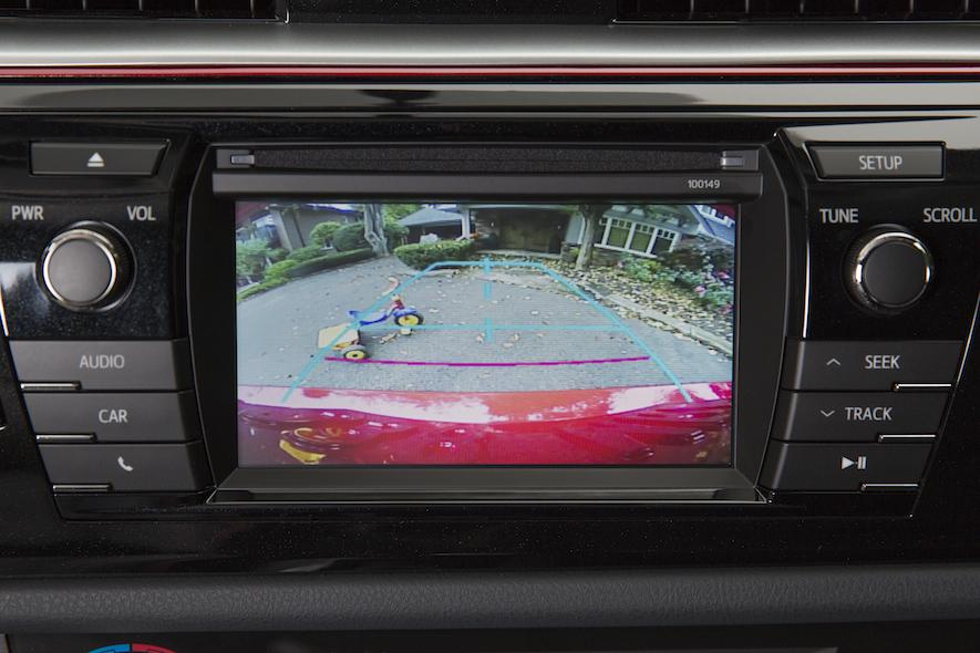 Toyota Corolla back-up camera