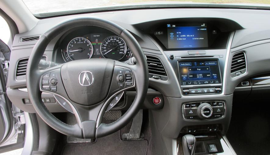 2015 Acura RLX Elite interior