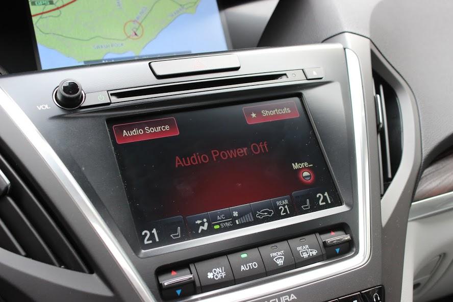 2015 Acura MDX Elite dual screens