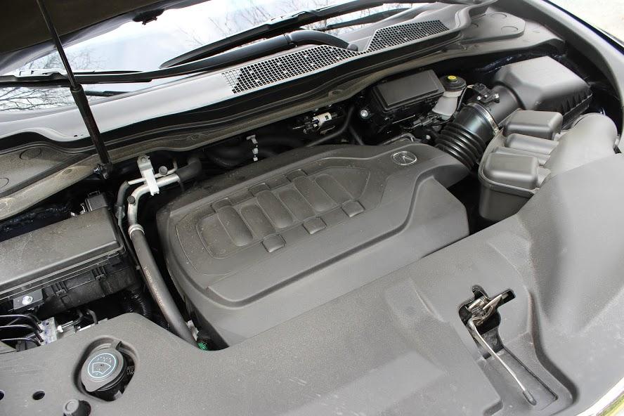 2015 Acura MDX Elite engine