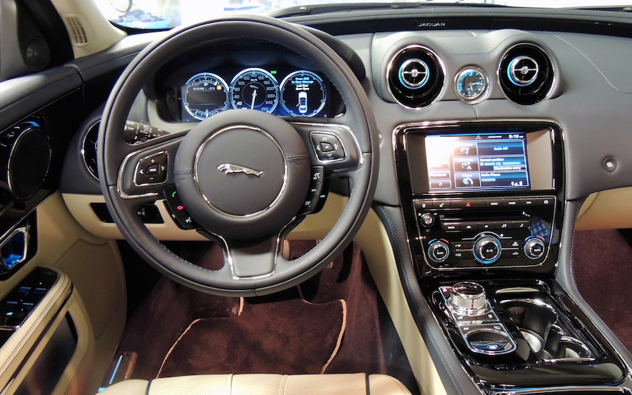 2015 Jaguar XJL Interior