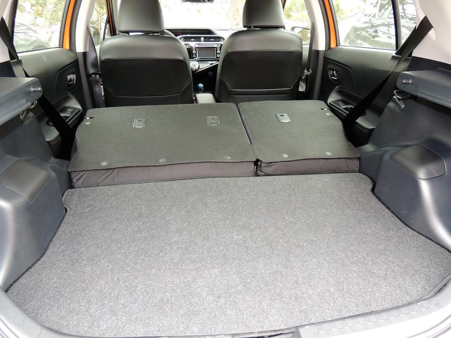 Toyota Prius C cargo
