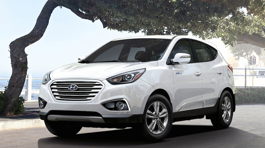 Hyundai's Tuscon Fuel Cell