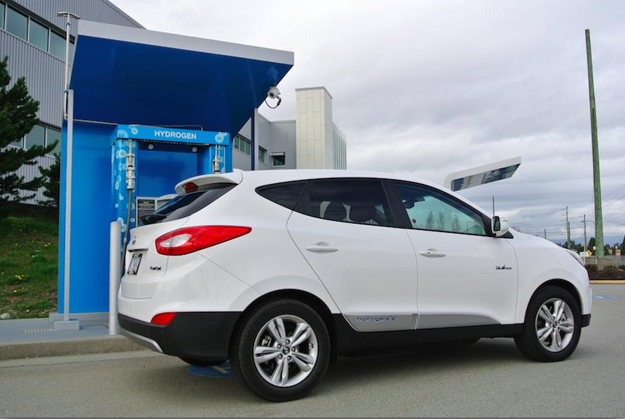 2015 Hyundai Tucson Rear