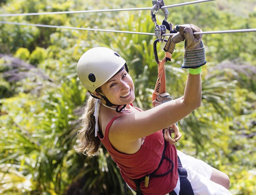 Zip-lining trips in Muskoka on may 24 weekend
