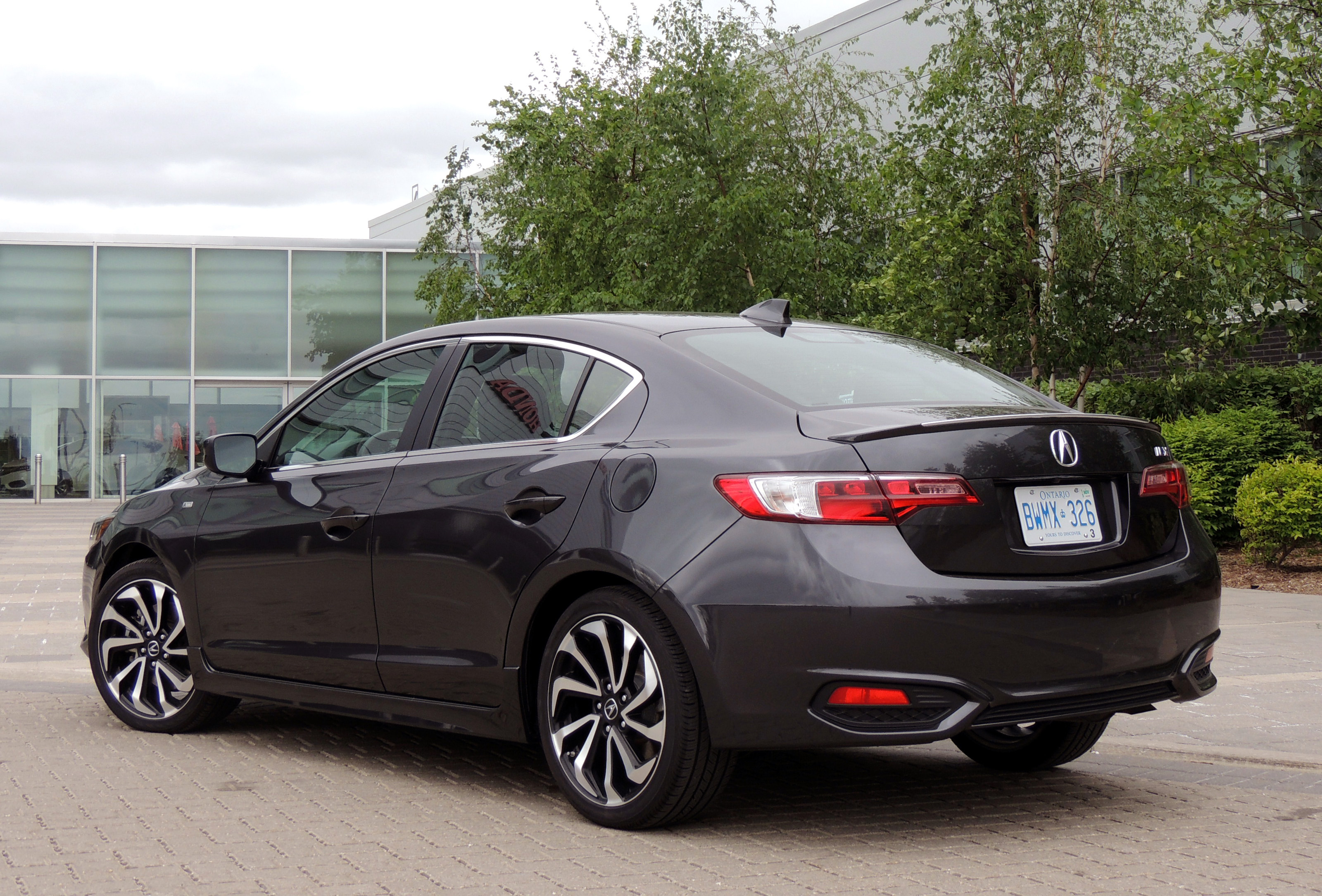 2016 Acura Ilx Review Car Colors Rear