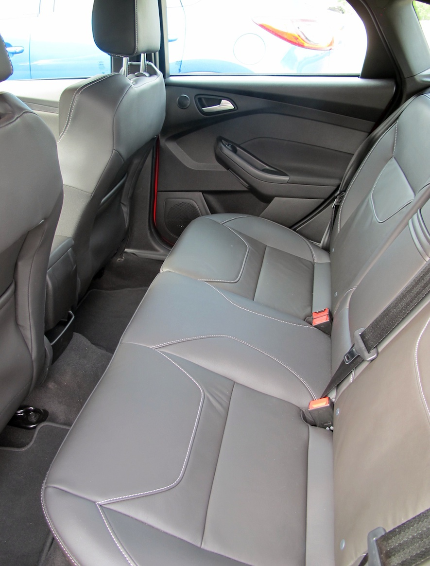 2015 Ford Focus ST Back seats