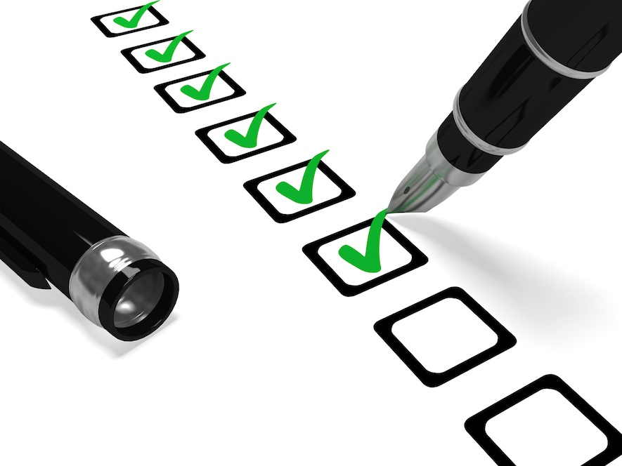 car warranty checklist