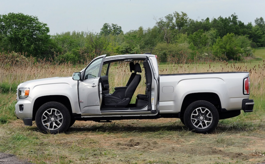 2015 GMC Canyon SLE 4WD Extended Cab Review – WHEELS.ca