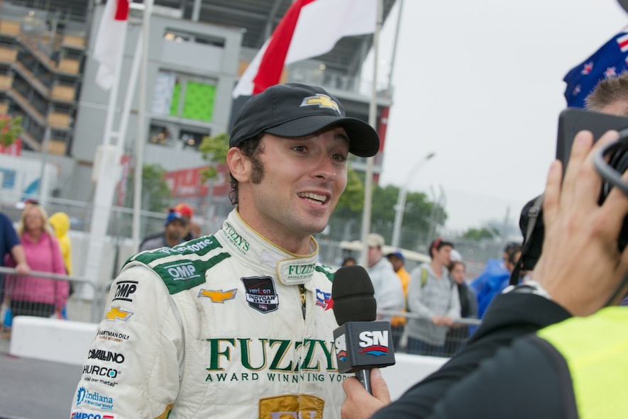 Luca Fillippi at the Honda Indy Toronto