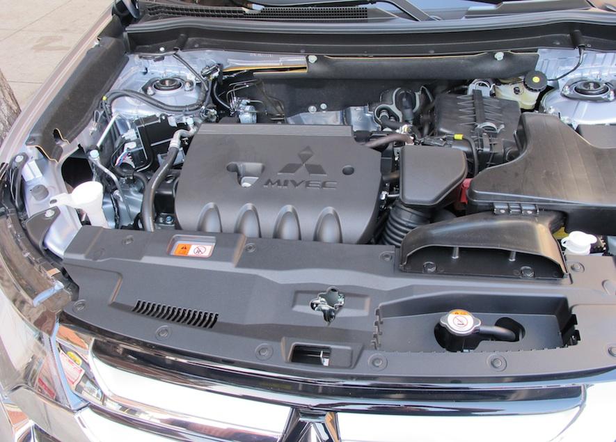 Mitsubishi outlander hp
