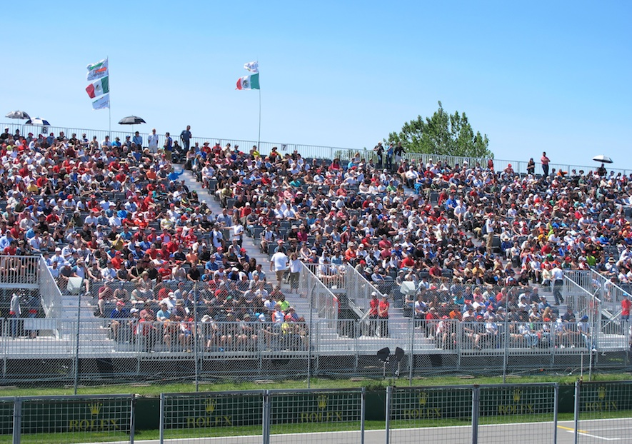 Montreal Grand Prix Audience