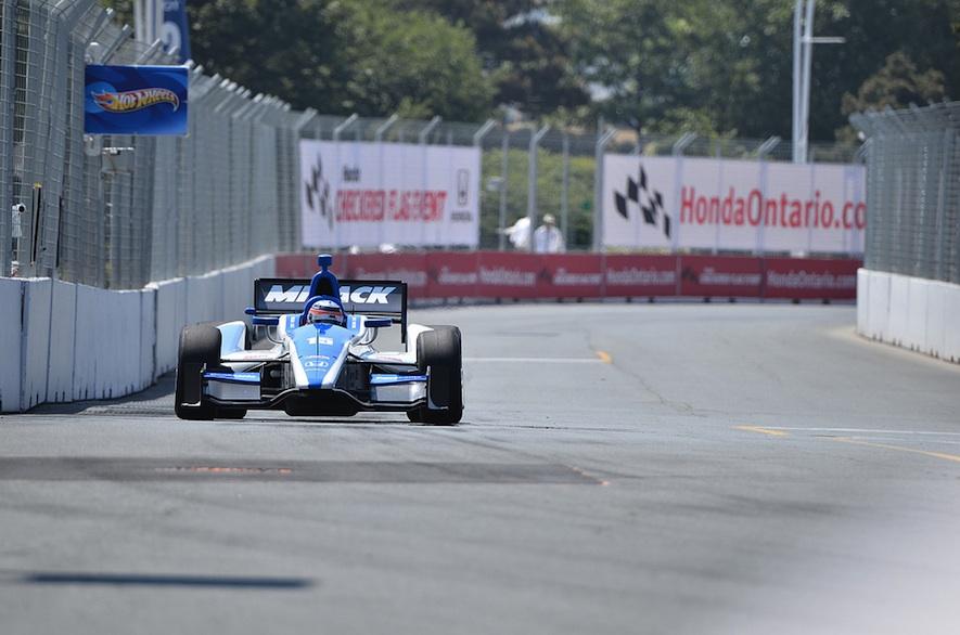 Honda Indy Practice