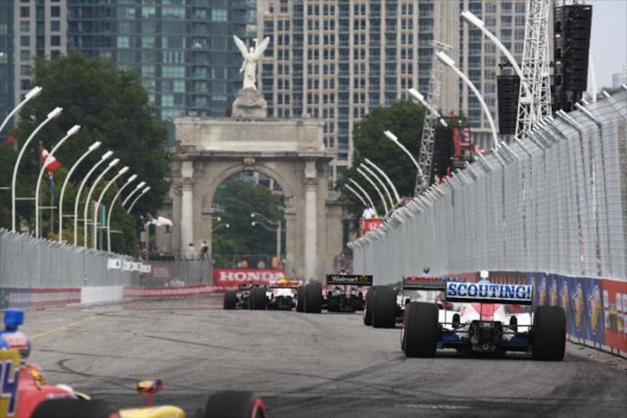 The Honday indy race