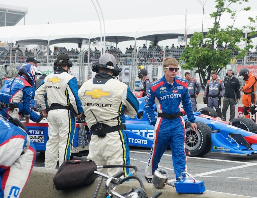 Honda Indy Toronto pit stop