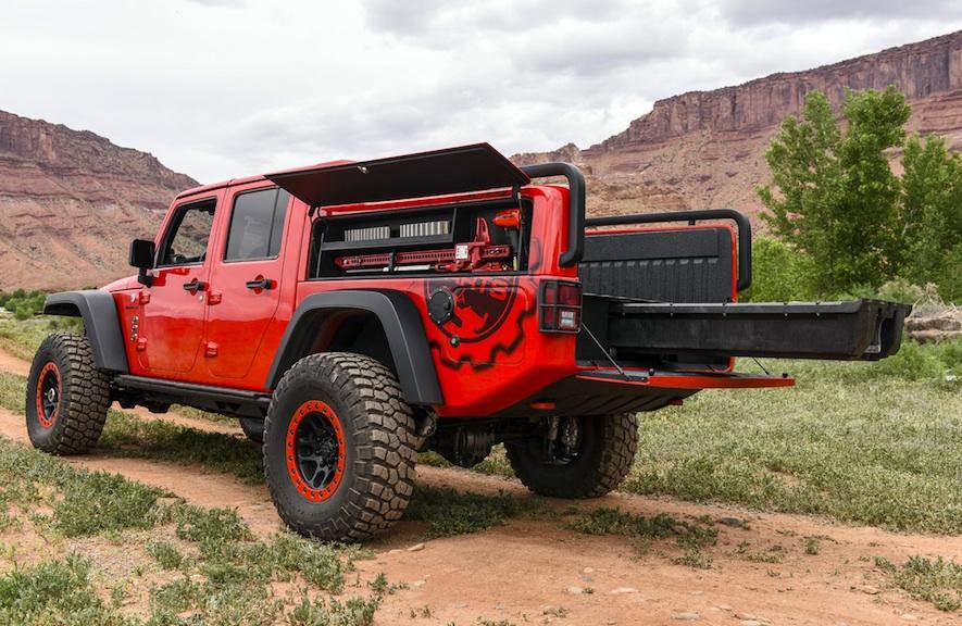 Jeep Concept Wrangler Red Rock Responder