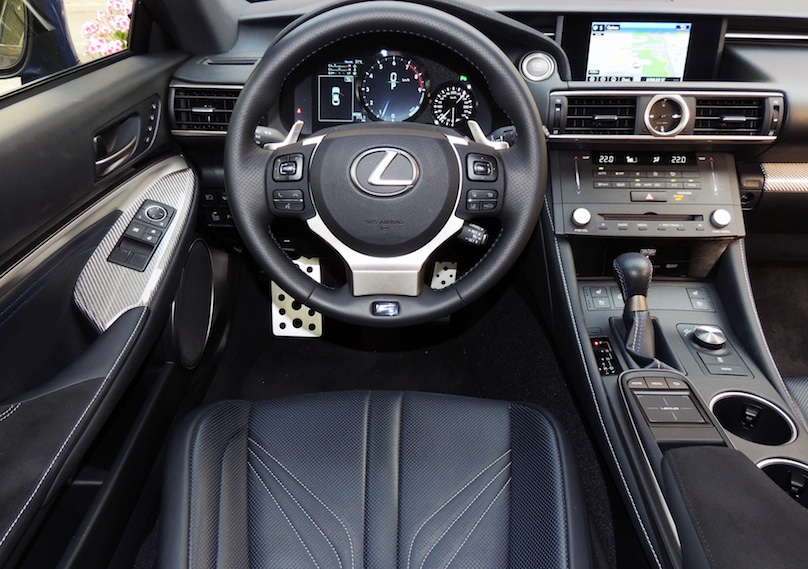 lexus 2015 rc interior. the rc f was developed at same time as 350 coupe but is lower wider and longer than its 305 hp 35litre cousin it shares wheelbase lexus 2015 rc interior i