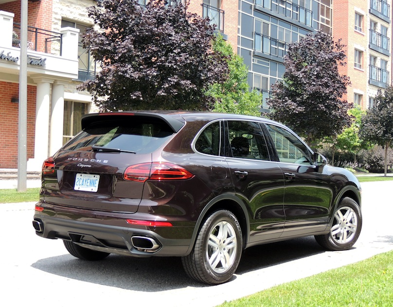2016 Porsche Cayenne V6 Review Wheels Ca