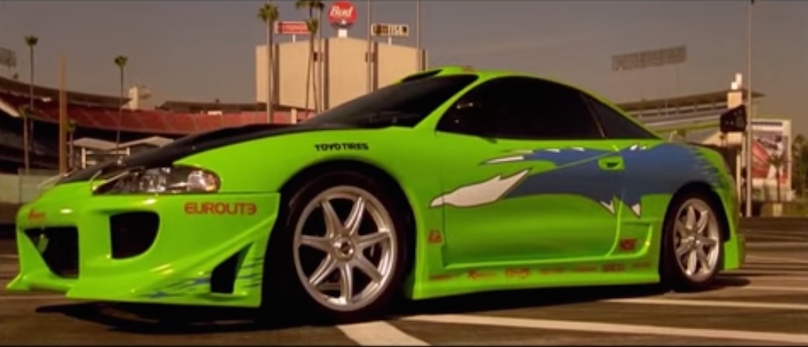 Fast and Furious 1995 Mitsubishi Eclipse