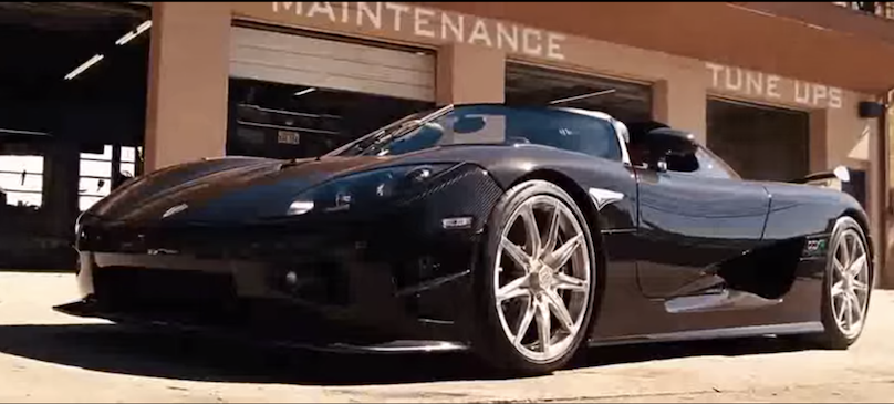 2007 Koenisegg CXX R Edition featured in fast and furious