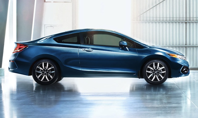 2015 honda civic coupe exterior