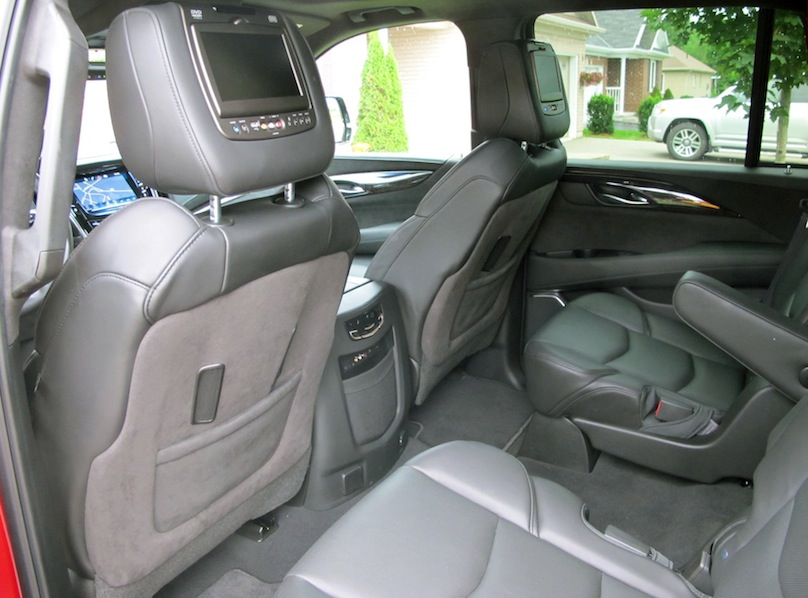 2015 Cadillac Escalade Back Seats