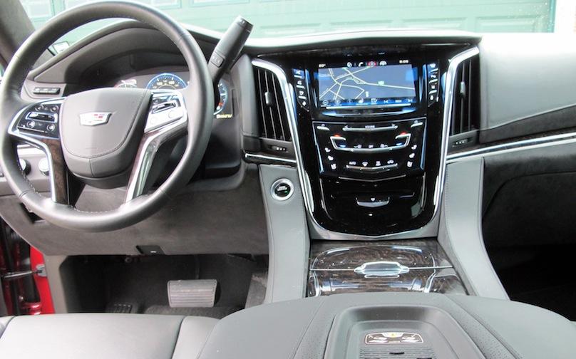 2015 Cadillac Escalade stack