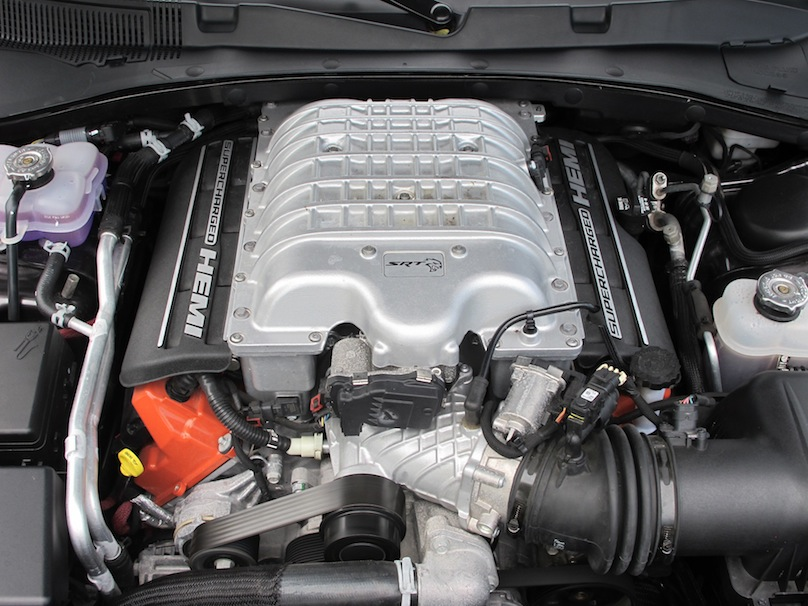 2015 Dodge Charger SRT Hellcat engine