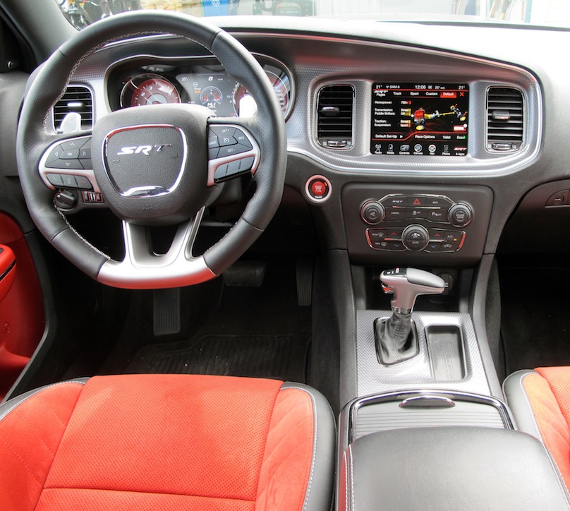 2015 Dodge Charger Front Interior