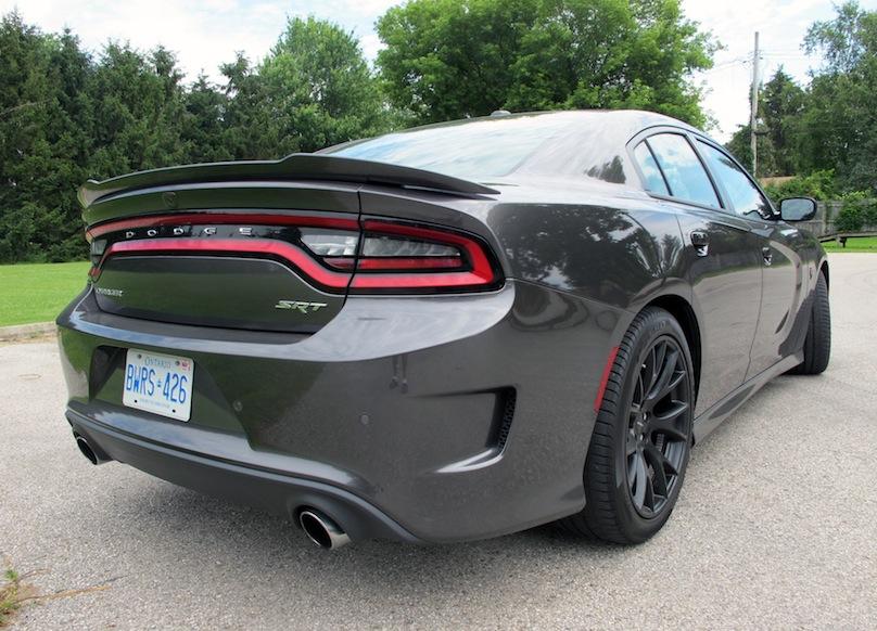 2015 Dodge Charger SRT Hellcat rear