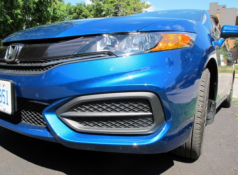 2015 honda civic coupe nose