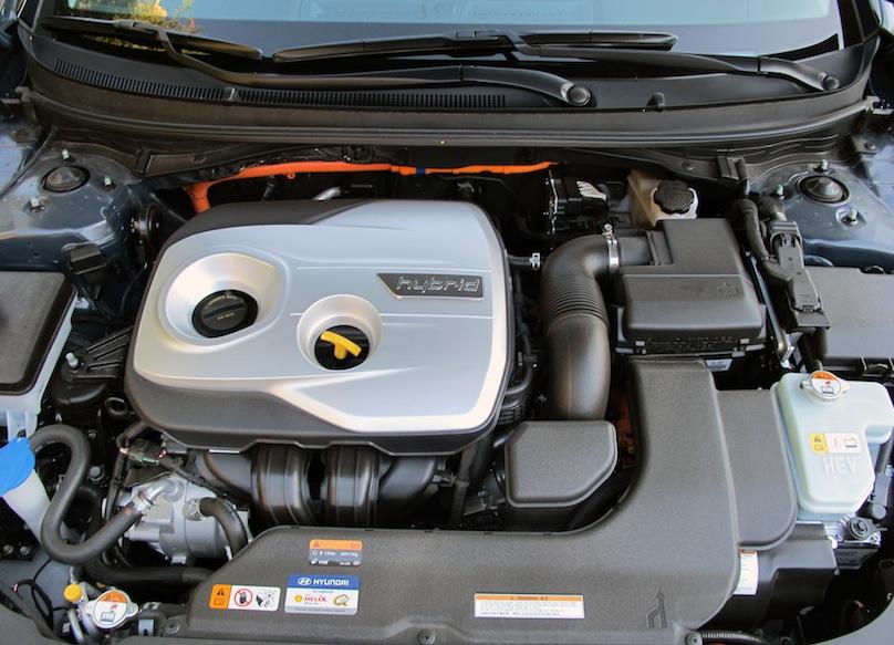2016 Hyundai Sonata hybrid engine