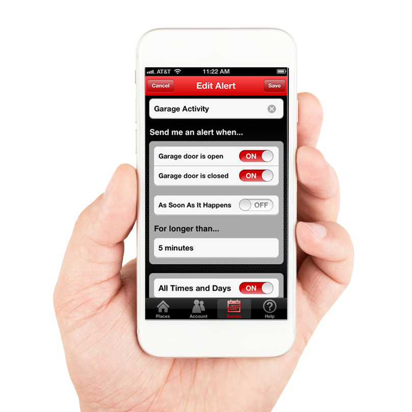 Craftsman Garage Door App