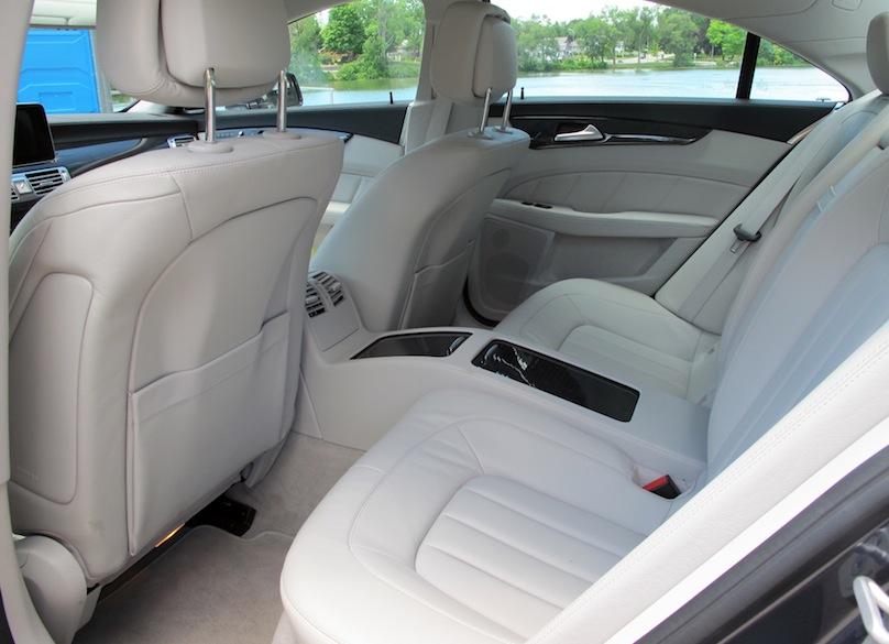 Mercedes-CLS backseat